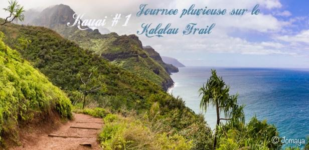 Kauai #1 : journée pluvieuse sur le Kalalau Trail