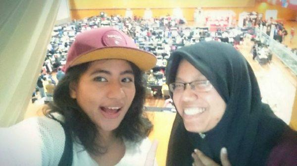 Akirien and Langkasuka selfie!