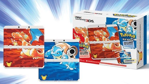 Nintendo 3DS Pokemon20th Edition