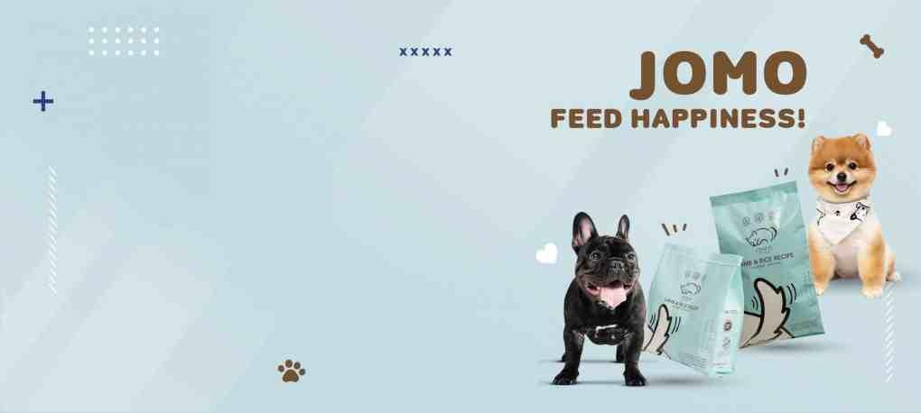 อาหารสุนัขสูตรพรีเมียม JOMO