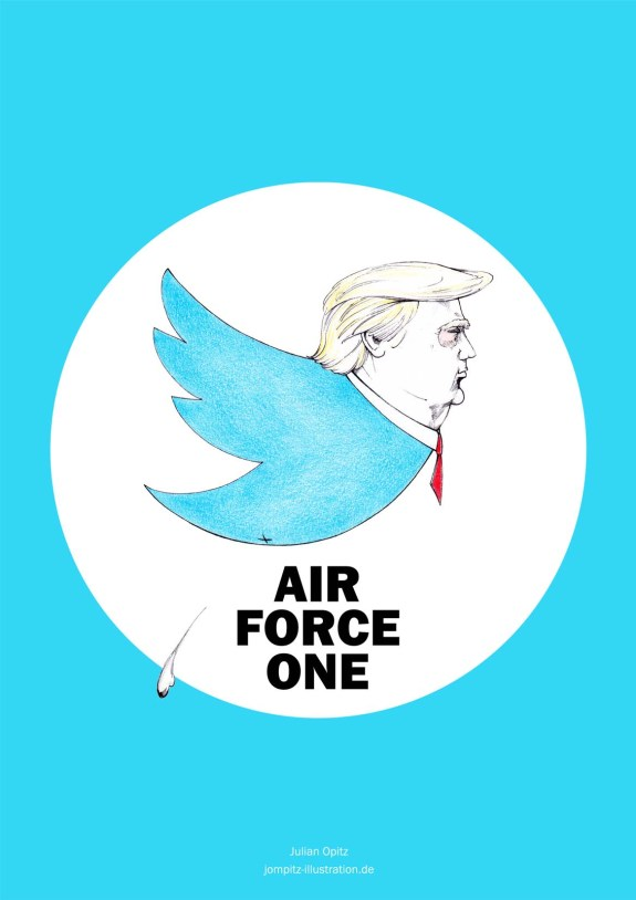 Abbildung des Posters mit dem Motiv New Air Force One.