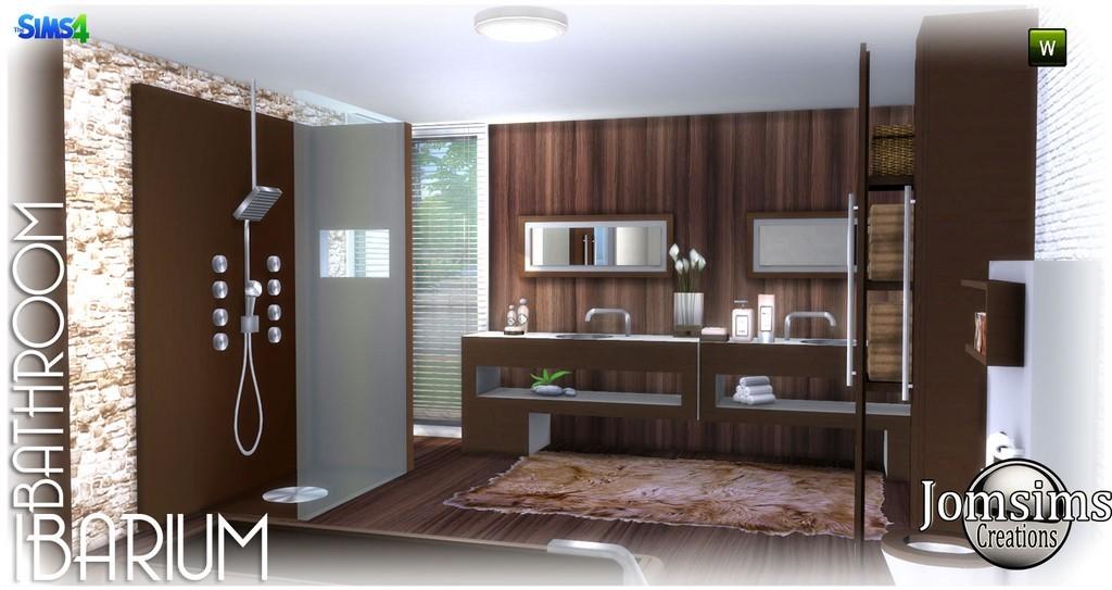 Bathroom Sims 4