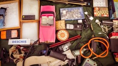 garage sale items, junk, vintage stuff