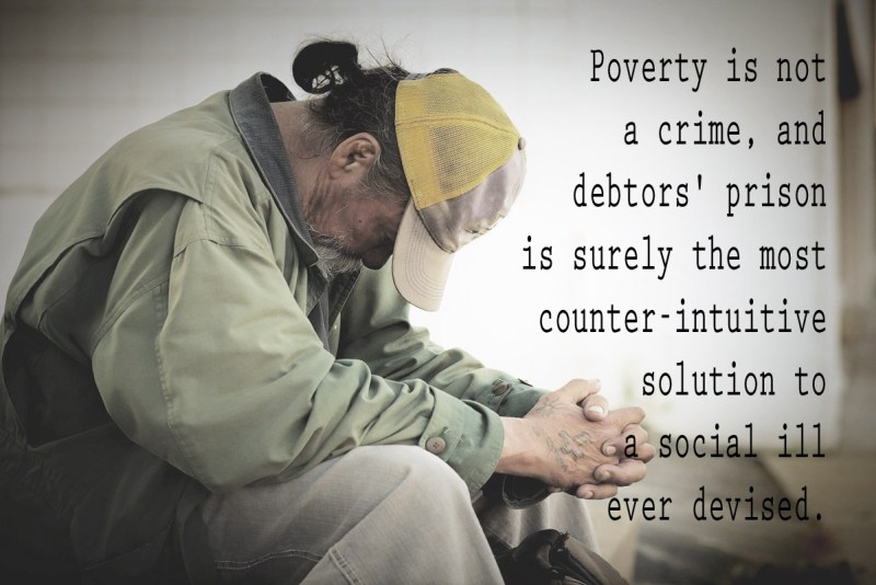 Poverty is not a crime.