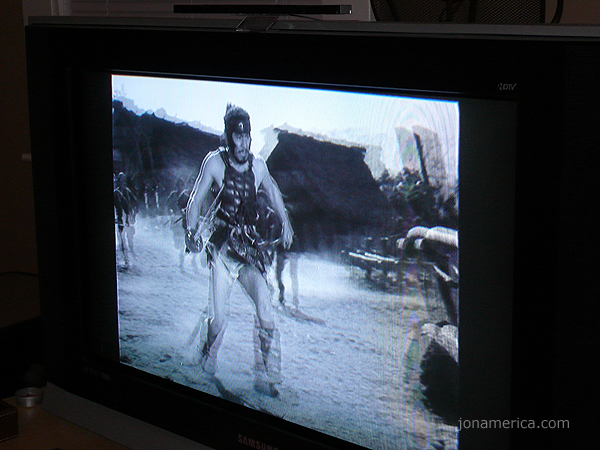 Of course, it wouldn't be a Linux install without Seven Samurai!