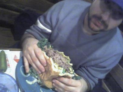 Had enough burger?