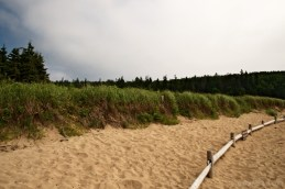 Sand Beach in Acadia National Park is the only sand beaches in Acadia National Park.