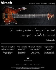 www.hirsch-guitar.com screenshot
