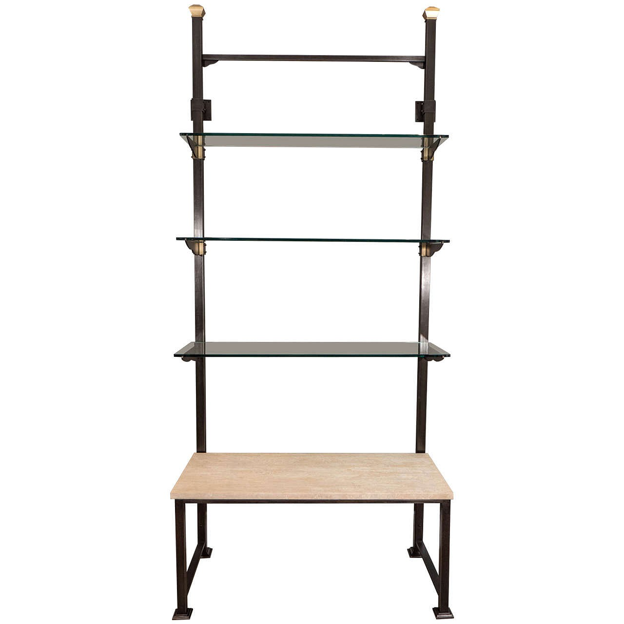 Viennese Secessionist Wall Mounted Shelving System