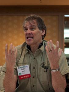 Peter Watts at SFContario 3, November 2012.
