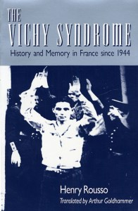 Book cover: The Vichy Syndrome