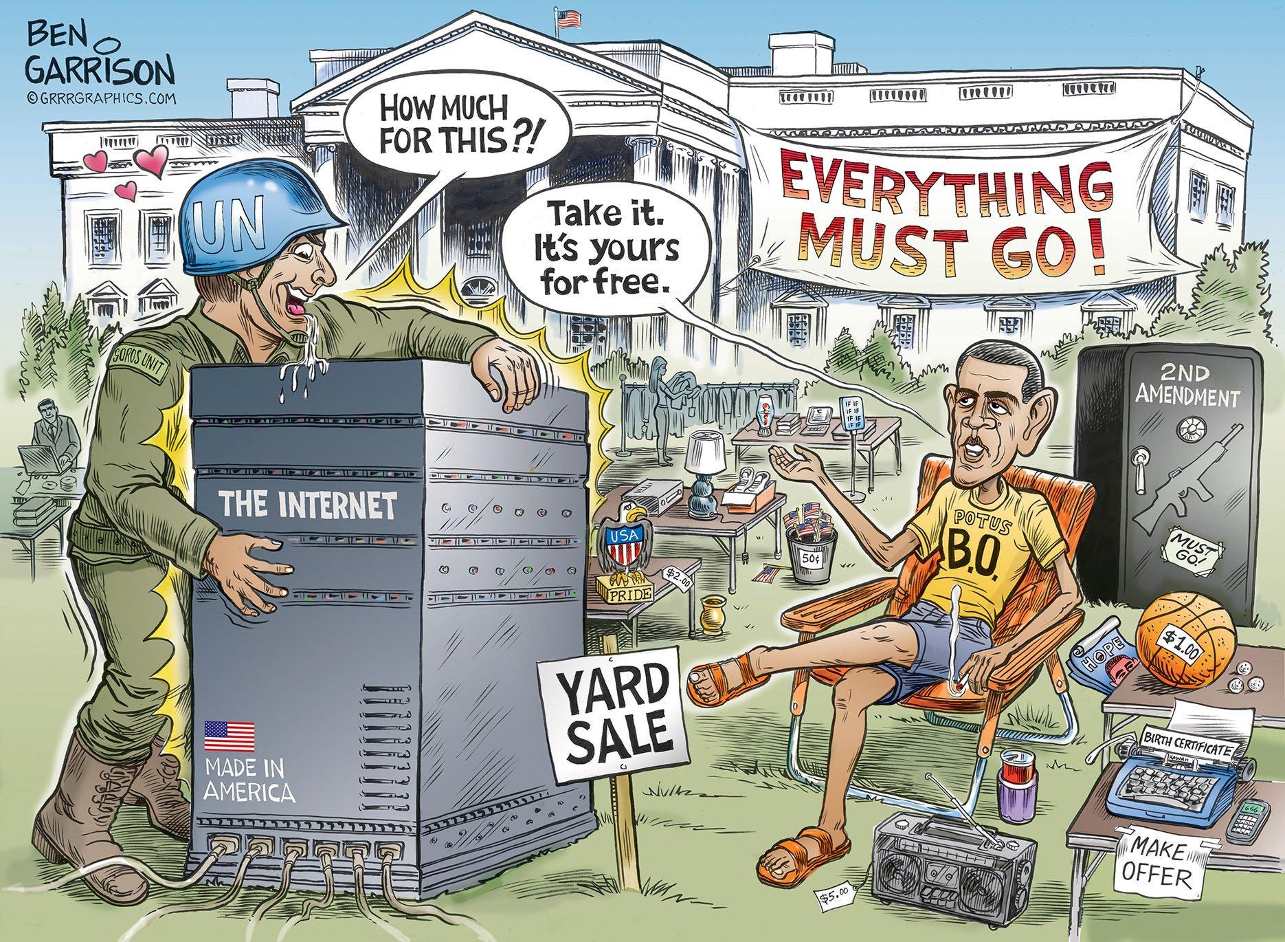 Barack Obama's 'Deep State': The United Nations!
