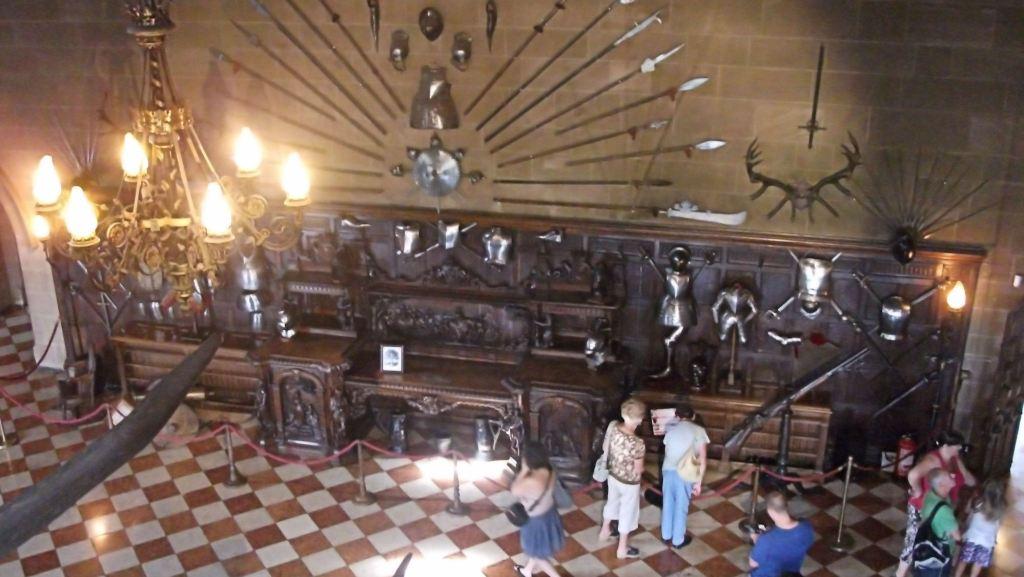 Château de Warwick le buffet Kennilworth