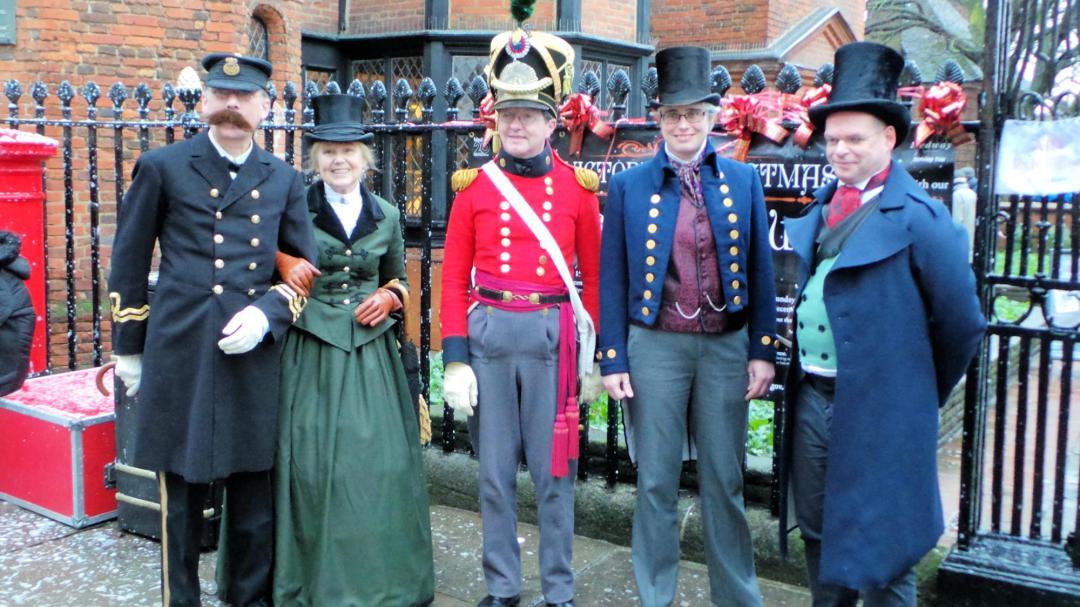 Festival de Noël Dickens à Rochester