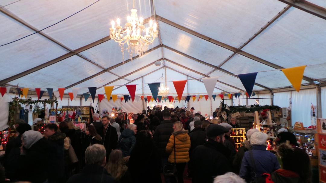 Foire de l'artisanat au marché de Noël de Rochester