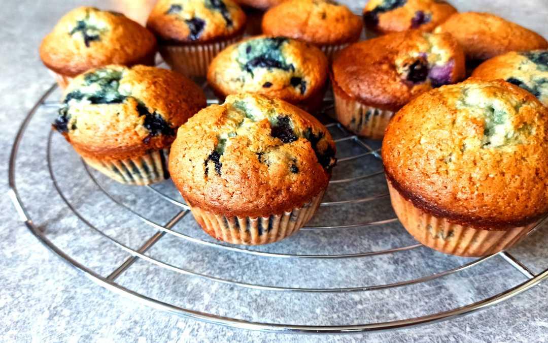 Muffins aux myrtilles facile
