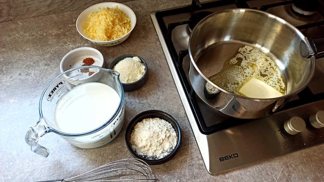 Préparation de la sauce