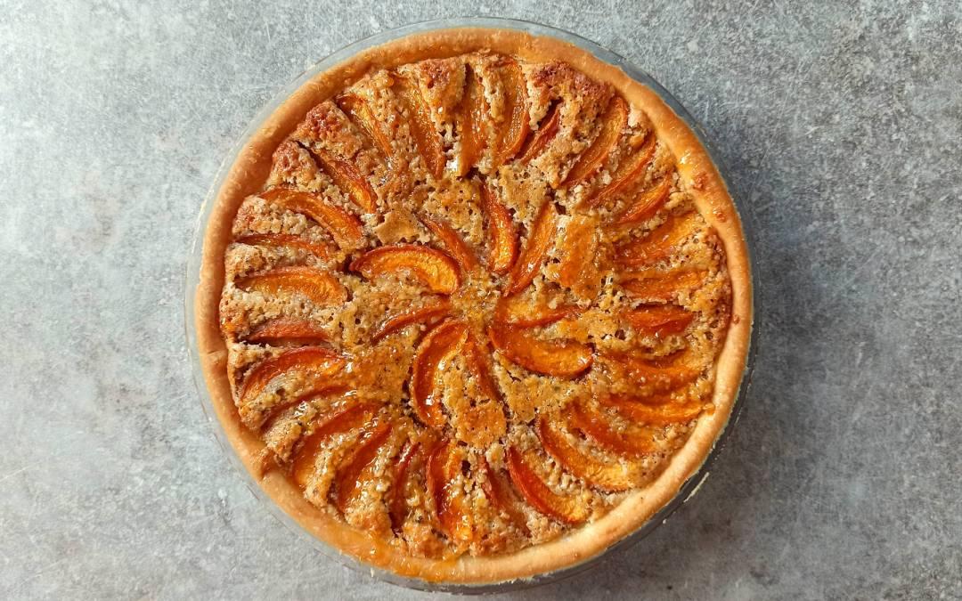 Tarte aux abricots frangipane