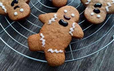 Gingerbread man : le petit bonhomme de pain d'épices