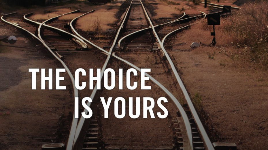 Image result for the choice is yours