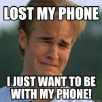 Losing Your Phone, Find a Connection