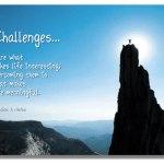 Challenges and Choices