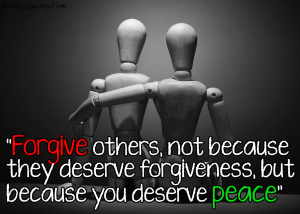 ultimate forgiveness