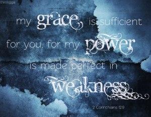 grace, power, weakness