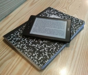 Jonathan Hilton Kindle and Notebook