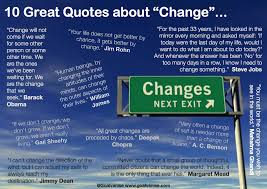 ten quotes change