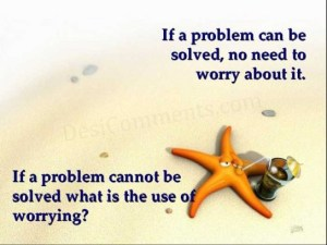 quote about worry