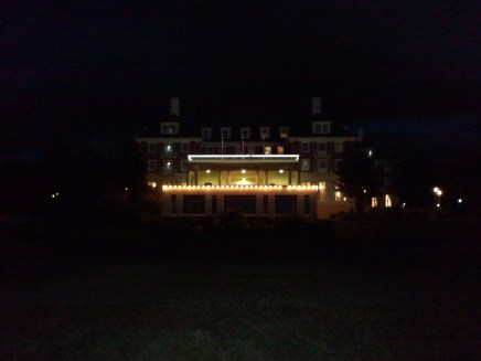 The Chateau Tongariro Hotel, a popular hotel at Tongariro National Park.