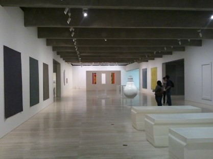 One of the exhibition halls of the Art Gallery of New South Wales.