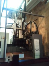 The Powerhouse Museum is Sydney's main science/technology museum; this is its Boulton and Watt steam engine, the oldest surviving rotative steam engine in existence.