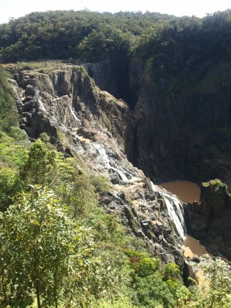 Barron Falls, in the Barron Gorge National Park, from the Kuranda Scenic Railway.