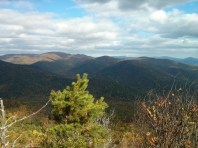 A picturesque vista near the summit of Old Rag.