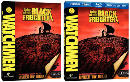 'Watchmen: Tales of the Black Freighter' DVD and Blu-ray Release