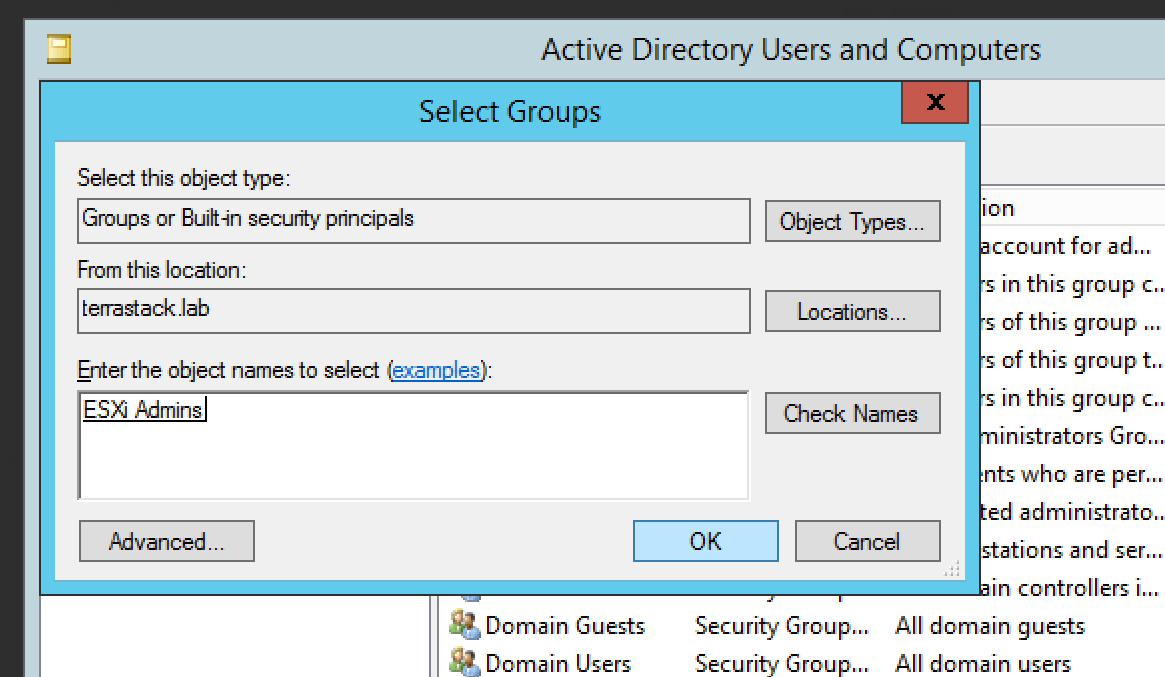 Add ESXi 6 5 Hosts to an Active Directory Domain – Jonathan Neilly