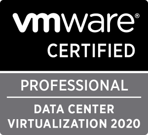 VMware Certified Professional Data Center Virtualisation 2020