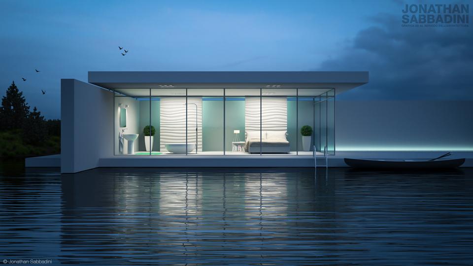 Una sera nella casa sul lago