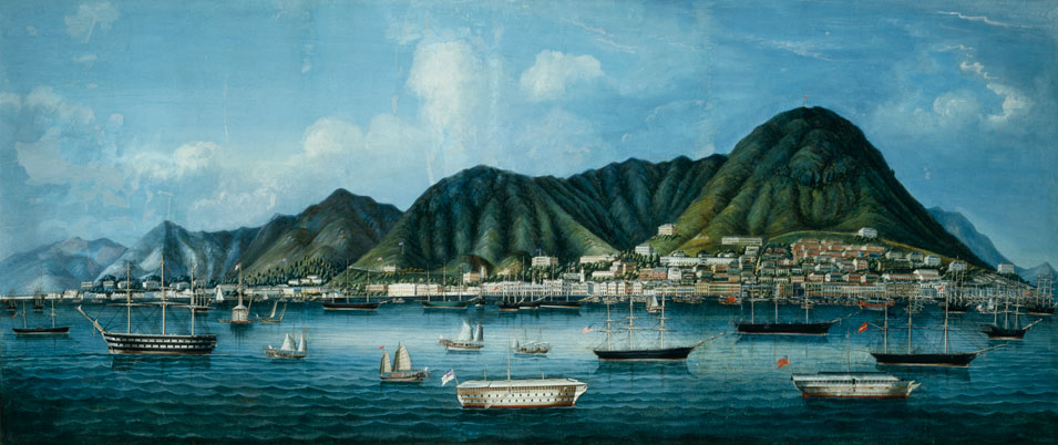 Victoria City, Hong Kong 1865