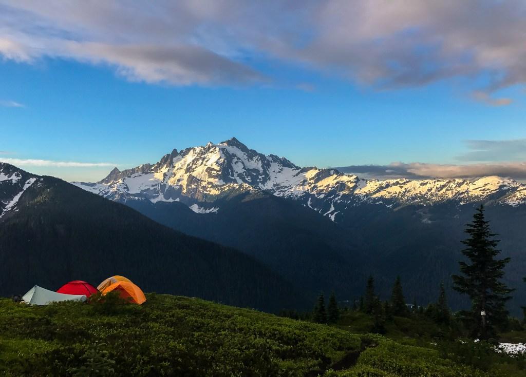 Sunrise on Mt. Shuksan