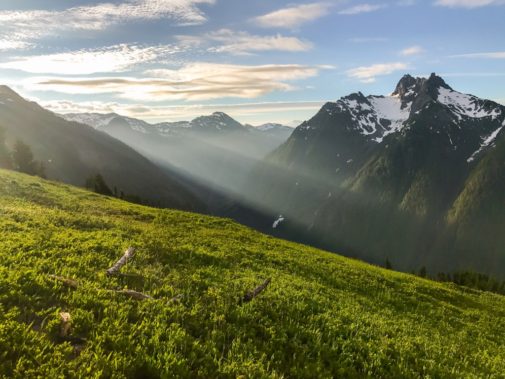 Sunrise on Goat Mountain