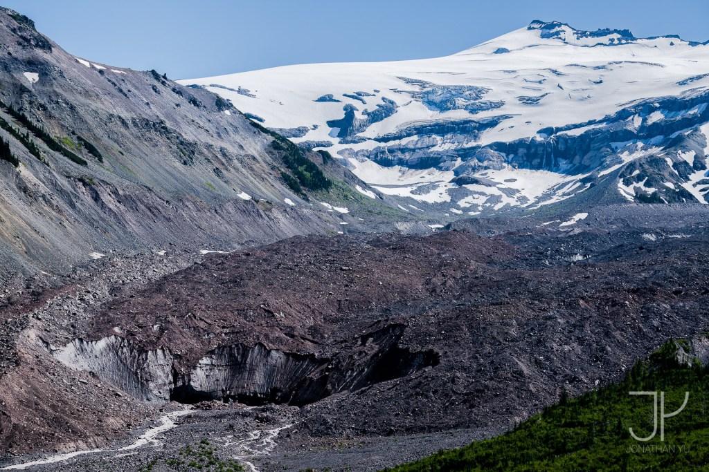 Emmons Glacier Terminus