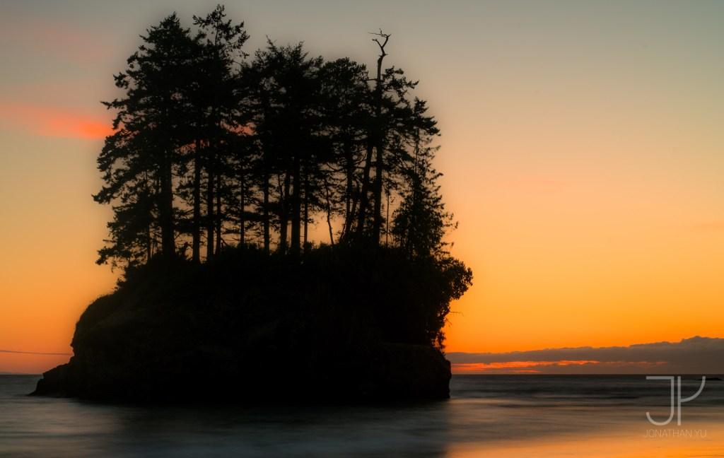 Olympic sun setting on a silhouette - A7RII