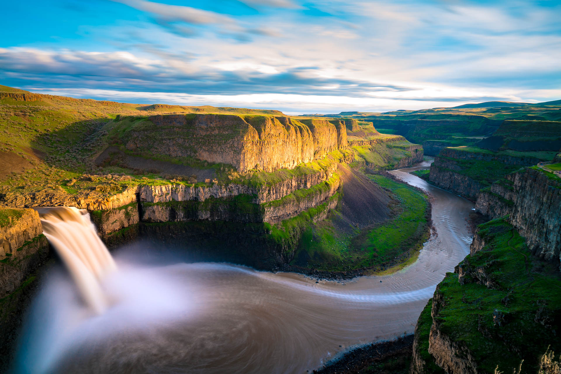 Palouse Falls Sunset