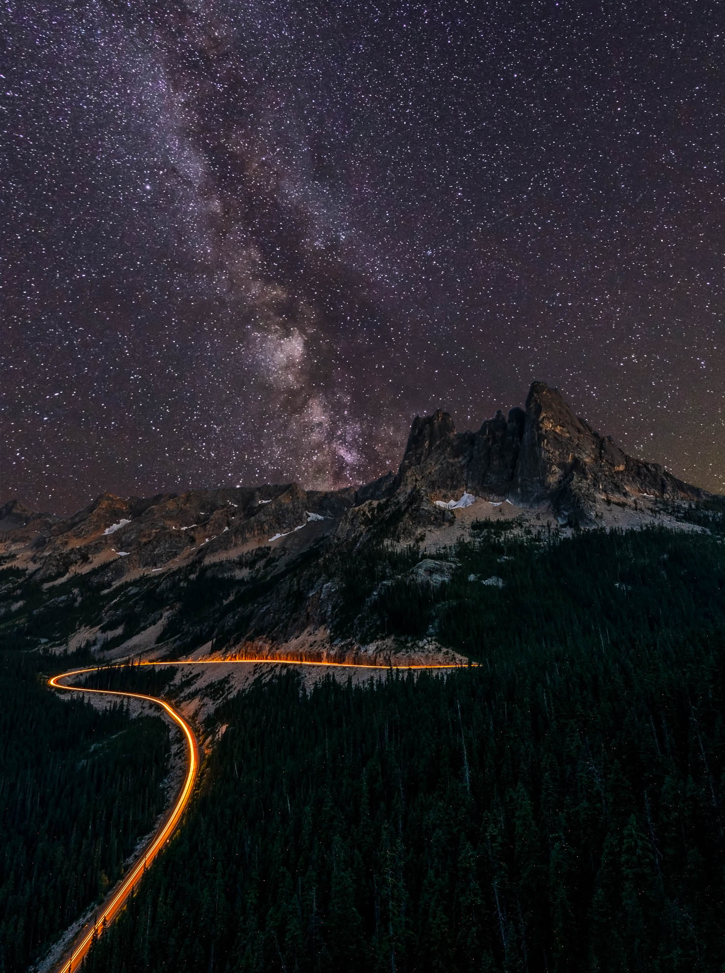 North Cascades Milky Way