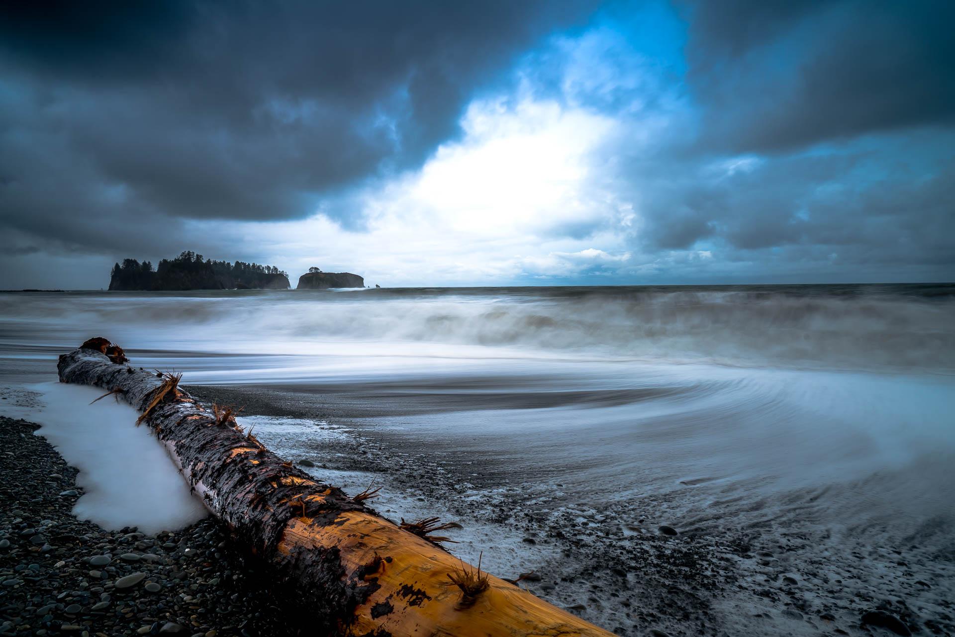 Rialto Beach Storm
