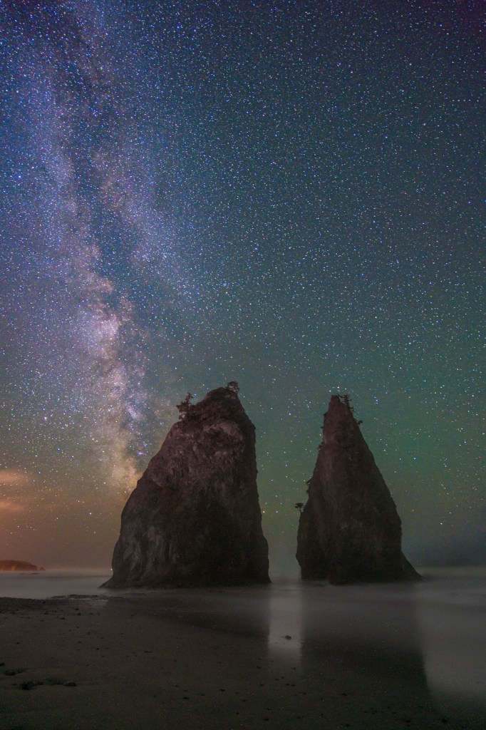 Rialto Beach Milky Way