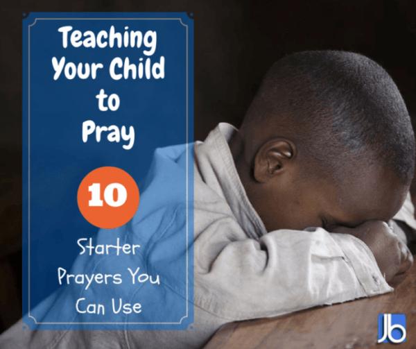 Teaching Your Child to Pray